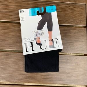 Hue Footless Tights Size 2 Black